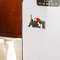 Imanes Frigorífico Francés París Refrigerador Metal Souvenir Magnet Hecho A Mano Craft Tour Tour Travel Collection Pegatina