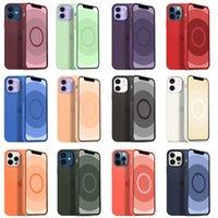 Casi di silicone liquido ufficiale originale per iPhone 12 Pro Max 12mini 12Pro Magsafe con copertura impermeabile antiurto della custodia del telefono dell'animazione