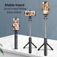 Selfie Monopods Portable Bluetooth Stick Phone Stand Tripod Video Live Streaming And Multifunctional Handheld Artifact