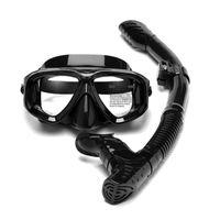 Diving Masks Adult Scuba Snorkeling Set Silicone Skirt Anti-Fog Goggles Glasses Swimming Fishing Pool Equipment