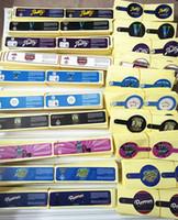 Adesivi per etichette Olografiche per bottiglia 60ml-100ml vetro / plastica JAR 42 Kins Jungle Boys Runtz 3.5 Contenitore di fiori di erbe secco