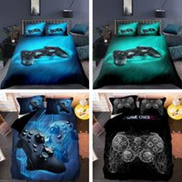 Bedding Sets Game Handle Set Luxury Duvet Cover With Pillowcase Quilt Queen King Cartoons Kids Boys Bed