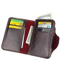 2021 NEW mens wallet magnetic snap clutch bag male wallet leather genuine Compartment portfel carteira purse men famous brand l
