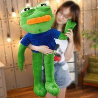 50-90 cm große größe pepe der frosch meme sammlung traurig frosch fühlt sich gut mann plüschtiere weich gefüllte tierpuppen geschenk
