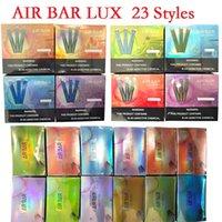 Air Bar Lux Descartável Vape Caneta Eletrônica Cigarros Com 500mAh Bateria 2.7ml Pods 1000 Puffs Device Starter Kit vs Bang XXL