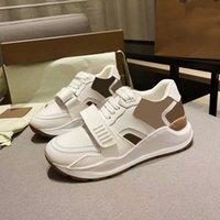 Hommes Vintage Check Sneakers Cuir Casual Chaussures Casual Femmes Designer Chaussures Surede Vérifié Toile Entraîneurs à lacets Platform Chaussures 281