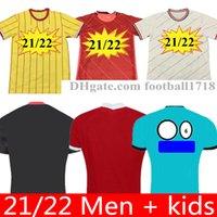 20 21 22 Mens Kit Kit Kit Jersey da calcio Maillot deley Soccer Jersey Camicia da calcio 2021 2022 Casa Away Camiseta de Fútbol Camisas de Futebol