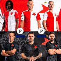 2021 Jersey de fútbol de alta calidad Jersey República Checa STAVIA PRAHA S.TECL O.KUDELA JAN KUCHTA A.SIMA L.PROVOD Jerseys de fútbol
