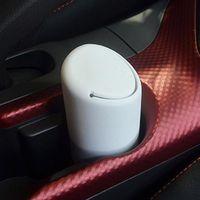 Other Interior Accessories Silicone Car Trash Bin Garbage Cup Rubbish Box Container Universal Auto Dustbin Car-styling Dust Case Organizer