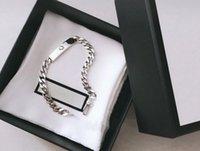 Bracelete Unisex Fashion Bracelets Correntes Ajustáveis para Homem Mulher Jóias Pulseira De Moda Design Jóias