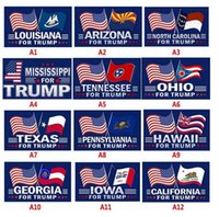 لا ألومني صوتت لأعلام دونالد ترامب 3 × 5 أقدام 2024 تغيرت القواعد العلم مع الحلقات الديكور الوطني الانتخابات Banner CJ09