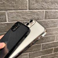 B47 حالات سيليكون دائم ل iphone12promax سليم واقية غطاء خلفي لينة