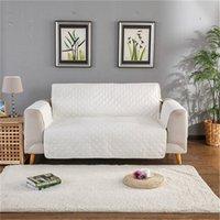 أريكة الحديثة أغطية لغرفة المعيشة الأريكة غطاء كلب أطفال حصيرة الأثاث حامي قابلة للعكس ذراع الأغلفة 1/2/3 مقاعد 1307 v2
