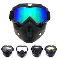Outdoor Eyewear Mask Goggles Off-road Motorcycle Racing Riding Glasses Skiing