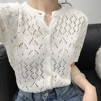 Women's Sweaters New Oversize Womens Sweaters Summer Vintage Cardigans Loose Winter Sweater Knitted Plus Size Women Cardigan Knit Button Loose GRPK
