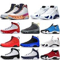 9 9s homens de basquete sapatos ginásio preto vermelho azul Sonho isso Faça isso UNC criados space jam estátua REGON patos Formadores sneakers