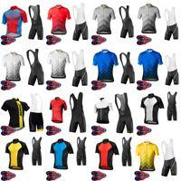 Mavic Takım Erkekler Bisiklet Jersey Önlüğü Şort Takım Yaz Nefes MTB Bisiklet Giyim Dağ Bisikleti Giymek Ropa Ciclismo S21070815