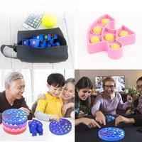 Silikon-Puzzle-Puzzle-Spielzeug-Push-Pop, dass ich ein Meister-Puzzzeln-frühes Bildung sortiert Dekompression Bubble Music-Kinder-Pädagogischer Spielzeug
