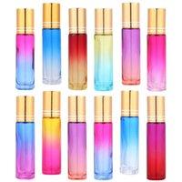 20pcs 10 Essential Oil Roll-on Bottles Perfume Subpackaging Storage & Jars