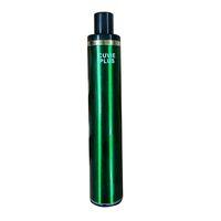 Cuvie Plus 일회용 vape 펜 전자 담배 5.0ml 용량 스타터 키트 5 % 한국어 및 2 % 러시아 대 퍼프 바 최대 bang xxl