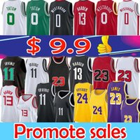 11 irving 7 Kevin 13 Harden 0 Westbrook basketball jersey 3 Wade Jimmy 22 Butler Jayson 0 Tatum men basketball jerseys top