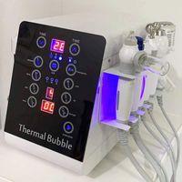 6In1 Microdermabrasión portátil Máquina de belleza Oxígeno Cuidado de la piel Agua Aqua Dermabrasión Peeling Equipo de spa Hydrafacial