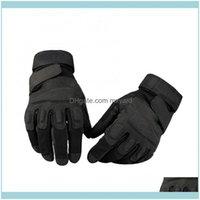 Gear Sports Outdoorsmen Полный палец против скольжения Регулируемые наружные велосипедные взбираясь защитные перчатки Drop Доставка 2021 2ZFOS