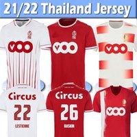 2021 2022 Standard Liège Soccer Jerseys 홈 Lestienne Amallah Special Edition 100 년 21/22 R. 표준 Liege Vanheusden Laifis Raskin Carcela 축구 셔츠