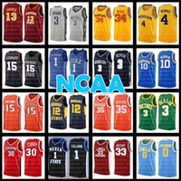NCAA Durant James James Harden Harden Iverson College Basketball Jersey Allen Ja Zion Kevin Williamson Ucla Chris Webber Bas Merion Georgetown Hoyas Rodman Westbrook