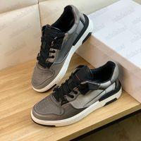 Cesta Asa Baixo Sapatos Homens Calfskin Couro Low-Top Sneakers Plataforma Branco Black Blue Runner Trainers Designer Oversized Casual Sapato
