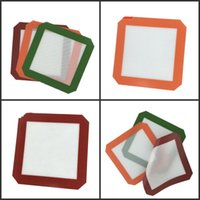 Colorful Silicone Mat Non-Stick Wax Oil Dab Dinng Tale Baking Mats for Glass Bong Water Pipes Smoking