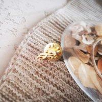 Оптовая мини-масонский отворотный банд значок Brooch Mason Freemason Sprig Acacia Akasha Leaf