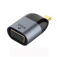 HD 비디오 컨버터 4K 8K @ 60Hz 커넥터 유형 C to VGA RJ45 HDM DP1.4 어댑터 USB-C 어댑터 MacBook ThinkPad Taplab iPad 디스플레이