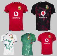 NOUVEAU 2021 22 Top Top Top Britannique et Irish Livres Jersey Jersey Home Team National Team Lions Rugby Shirt