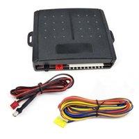 경보 보안 자동차 LCD 원격 제어 GSM 유형 자동 라이트 저속 컨트롤러 자동차 중앙 잠금 장치가있는 홈 센서