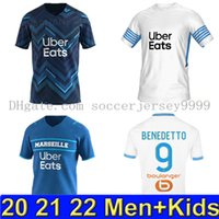 Marseille soccer jersey Olympique De 21 22 OM 2021 2022 mail...