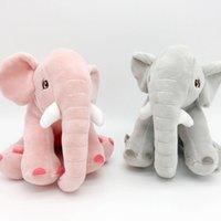 20 cm Elefante Muñeca Rellena Baby Room Decoración Elefantes Peluche Juguetes Playmate Calm Animal Dolls Niños Juguete Regalo