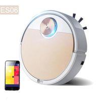 Robot dammsugare Smart Vaccum Fpr Hem Mobiltelefon App Fjärrkontroll Automatisk dammborttagning Rengöring Sopmaskin