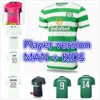 Fans Player Version 21 22 Glasgow Celtic Soccer Jerseys McGregor Edouard 2021 2022 Forrest Brown Forrest Bayo Klimala Shirt de football Griffiths Taylor Uniforme