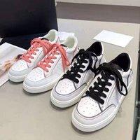 Sneakers Design Sneakers Confortable Lacets Casual Chaussures de décontractation, Semelle antidérapante Cuir Flan Cuir Cuir Plaque Semelle Plat 34-40
