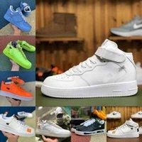 Nike Air Force 1 one airforce Shoes Verkaufen 2021 Neue Beat Designer Schuhe Vintage Neue Outdoor Skate Sneakers Dreibettzimmer Schwarz Weiß Braun Flachs Orange Herren