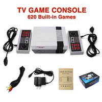 Hot Mini TV Controllers 620 500 Game Console Video Handheld For NES Games Consoles With Retail Box Christmas Gift