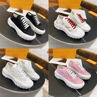 المصممين النسائي منصة الأحذية قماش أبيض وجلد جلد العجل توقيع مرتفعة اسسلسل