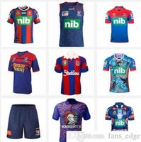 2019 Knights Singlet Home Rugby Jerseys Mens Top Quality 19 20 Tailândia Qualidade Rugby League Camisa Jersey Knights Singlet Jersey Camisas Tamanho S-3XL 2020
