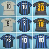 Finals 2009 10 Milito Sneijder Zanetti Retro Jersey Jersey Jersey 97 98 99 Djorkaeff Baggio Ronaldo Adriano Milão 10 11 02 03 08 09 Inter