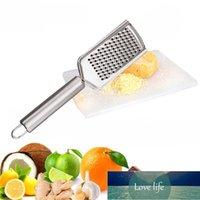Novo de limão inoxidável queijo vegetal Zester Granador Peeler Slicer Cozinha Ferramenta Gadgets Fruit vegetal Chopper