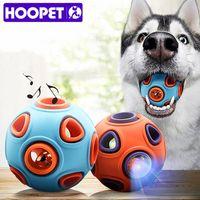Hoopet كلب اللعب لعبة مضحكة الكرة التفاعلية مضغ الغذاء كرات المطاط إمدادات الحيوانات الأليفة