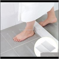Mats Aessories Home & Garden10Pcs Bath Grip Stickers Non Slip Shower Strips Flooring Safety Tape Pad Anti Bathroom Mat Drop Delivery 2021 Nzm