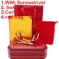 316L Tititituanium Classic Bracelets Bracelets Pour Lover Mode Bracelet Bracelet De Mariage Rose Gold Holdgiving Day Bracelet avec encadré 15-21cm 100