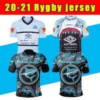 2020 Yeni Cronulla-Sutherland Sharks Rugby Jersey 20 21 Yerli Jersey Nrl Rugby League Formalar Avustralya Köpekbalığı Maillot de Halı
